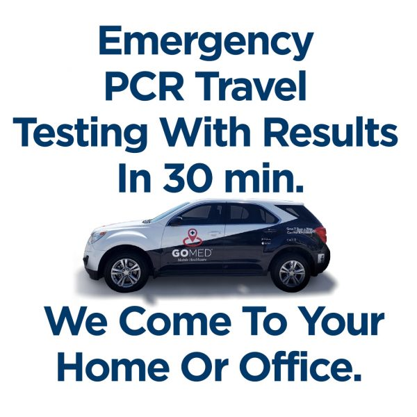 Emergency Expedited PCR Travel 30 Minute Testing